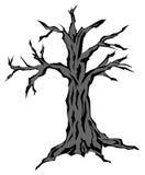 Allhelgonaaftonträd Arkivfoto