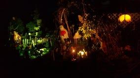 Allhelgonaaftonvärld/trädgård Royaltyfria Foton