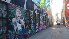 Allié de graffiti images stock