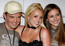 Alli Sims, Claus Hjelmbak and Britney Spears Stock Image