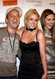 Alli Sims, Claus Hjelmbak e Britney Spears Fotografie Stock