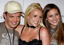 Alli Sims, Claus Hjelmbak e Britney Spears Immagine Stock