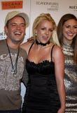Alli Sims, Claus Hjelmbak e Britney Spears Immagini Stock Libere da Diritti
