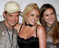 Alli Sims, Claus Hjelmbak e Britney Spears Fotografia Stock Libera da Diritti