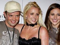 Alli Sims, Claus Hjelmbak e Britney Spears Immagini Stock