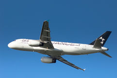 Alliance A320 d'étoile Image libre de droits