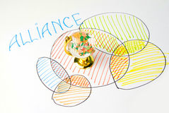 Alliance concept Stock Photo