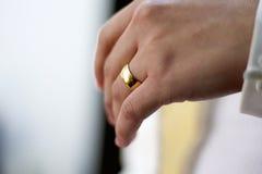 Alliance en el finger Fotos de archivo libres de regalías