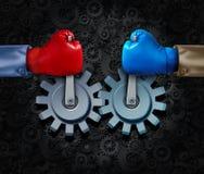 Alliance stratégique Image libre de droits