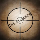 The alliance target Stock Images