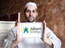 Alliant能量商标 库存照片