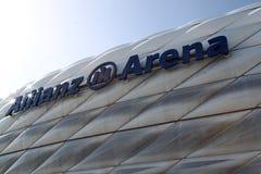 Allianz竞技场 免版税库存照片