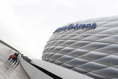Allianz Arena. Football stadium in Munchen royalty free stock photography