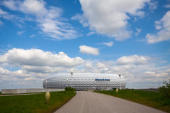 Allianz Arena Royaltyfri Foto