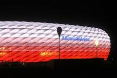Allianz Arena royaltyfria bilder