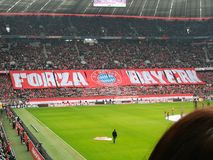 Allianz Arena Stockbild