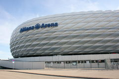 Allianz Arena. The Allianz Arena in the Bavarian State capital of Munich royalty free stock images