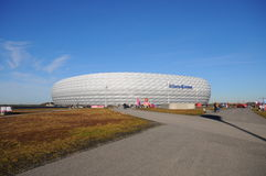 Allianz Arena Bayern Munich Royalty Free Stock Photo