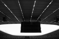 Allianz Arena interior Royalty Free Stock Photography