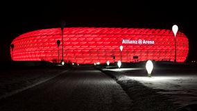 Allianz Arena in Munich Germany Royalty Free Stock Images