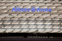 Allianz Arena in Munich Germany Stock Images
