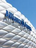 Allianz Arena in munich (germany) Royalty Free Stock Photo