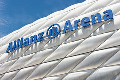 Allianz Arena in munich (germany) Stock Images