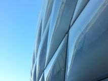 Allianz Arena. The roof of the arena of the soccerclub Bayeren München royalty free stock images