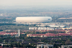 Allianz Arena Soccer Stadium Munich Stock Images