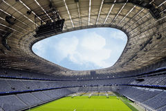 Allianz Arena Stadium. Greatness and impressiveness of Allianz Arena stadium -the official playground of FC Bayern Munich stock photography