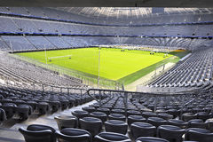 Allianz Arena Stadium. Greatness and impressiveness of Allianz Arena stadium -the official playground of FC Bayern Munich royalty free stock photos