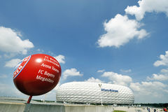 Allianz Arena Stadium Royalty Free Stock Photography