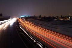 Allianz Arena und Verkehr Lizenzfreie Stockbilder