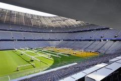 Allianz arenastadion Fotografering för Bildbyråer