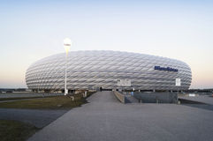 Allianz arenastadion i Munich Royaltyfri Bild