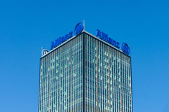 The Allianz complex in Alt-Treptow. Berlin Stock Images