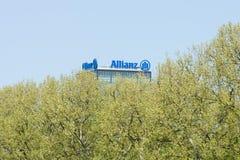 The Allianz complex in Alt-Treptow. Stock Image