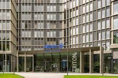 Allianz Global-Investeerders in Frankfurt Royalty-vrije Stock Foto's