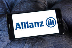 Allianz insurance logo Royalty Free Stock Images