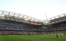Allianz Riviera stadium in Nice, France Stock Photos