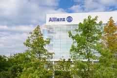 Allianz SE firma ubezpieczeniowa i pieniężnej inwestyci grupa Obrazy Royalty Free