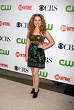 Allie Grant. Arriving at the CBS / Showtime / CW / CBS Television Distribution TCA Stars Party at the Huntington Library in San Marino, CA  on August 3, 2009 Royalty Free Stock Photography