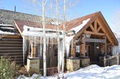 Allie`s Cabin, Beaver Creek Ski Resort, Vail Resorts, Colorado Stock Image