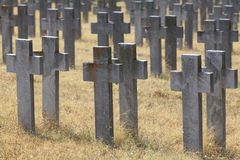 Allied cemeteries Stock Photos
