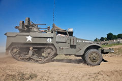 Allied personnel carrier Royalty Free Stock Photography