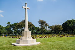 Allied War Cemetery Royalty Free Stock Images