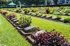 Allied War Cemetery Stock Photo