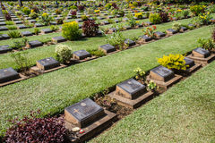 Allied War Cemetery Stock Image