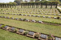 Allied War Memorial Cemetery (Htauk Kyant) Royalty Free Stock Image