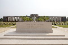 Allied War Memorial Cemetery (Htauk Kyant) Stock Photos